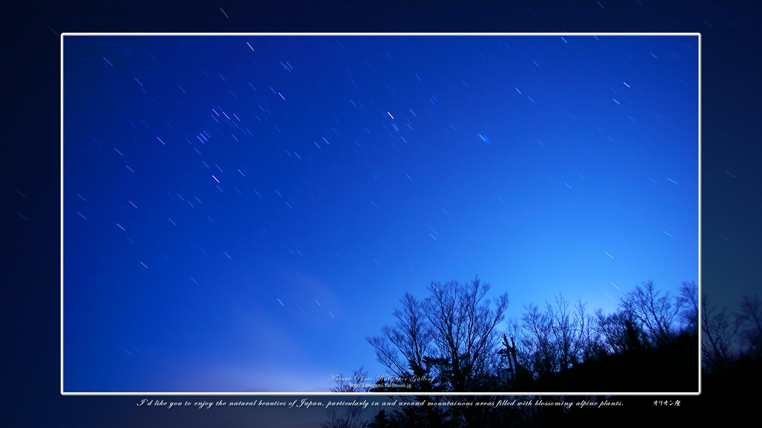 星景写真の高画質壁紙集 オリオン座 5 ネイチャーフォト壁紙館